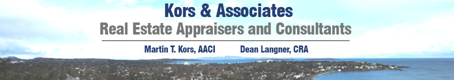 Kors & Associates - Real Estate Appraisers and Consultants - Martin T. Kors, AACI, Richard Horwood, AACI  AACI, Dean Langner, CRA